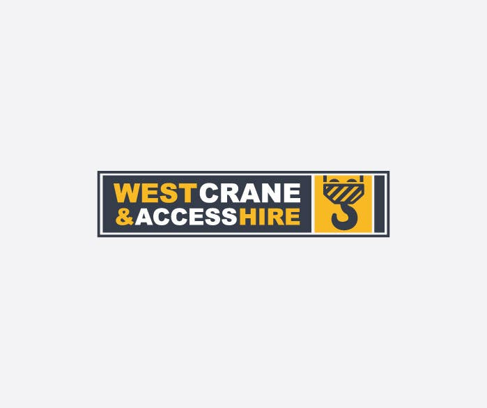 Konkurrenceindlæg #2 for Design a Logo for West Crane & Access Hire