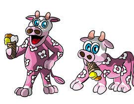 #12 untuk Illustrate a Pink Cow As a Cartoon for a Brand Mascot oleh eberledominik
