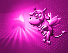 #2 untuk Illustrate a Pink Cow As a Cartoon for a Brand Mascot oleh pixell