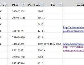 Accounting123 tarafından Do some Excel Work for Data scraping a website için no 31