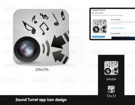 "#26 untuk Design an Icon for the ""Sound Turret"" Mac app oleh dirav"