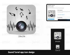 "nº 28 pour Design an Icon for the ""Sound Turret"" Mac app par dirav"