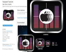 "nº 19 pour Design an Icon for the ""Sound Turret"" Mac app par umamaheswararao3"