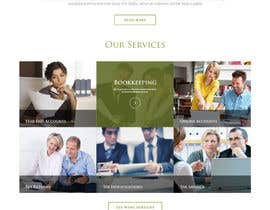 Nro 48 kilpailuun Design a Website home page for new firm of Accountants in the UK käyttäjältä pradeep9266