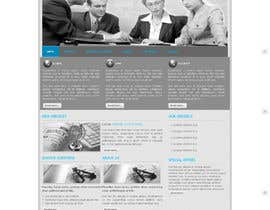 #18 untuk Design a Website home page for new firm of Accountants in the UK oleh anhvacoi