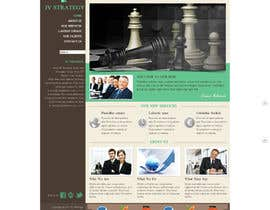 #19 untuk Design a Website home page for new firm of Accountants in the UK oleh anhvacoi