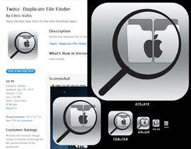 "#2 untuk Design Icon for ""Twinz: Duplicate File Finder"" Mac app oleh umamaheswararao3"