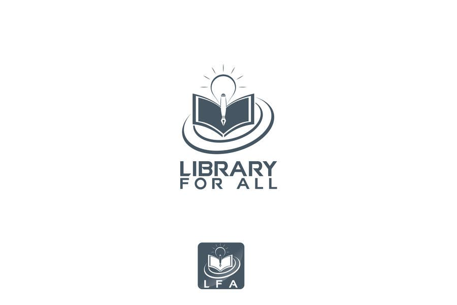 Penyertaan Peraduan #189 untuk Design a Logo for the Library For All application!