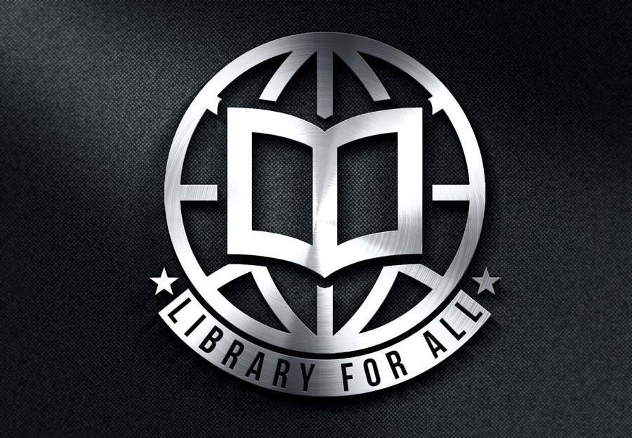 Penyertaan Peraduan #340 untuk Design a Logo for the Library For All application!