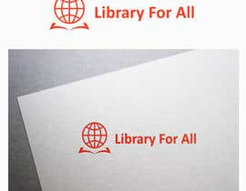 #199 for Design a Logo for the Library For All application! af Standupfall