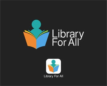 #322 for Design a Logo for the Library For All application! af tedi1