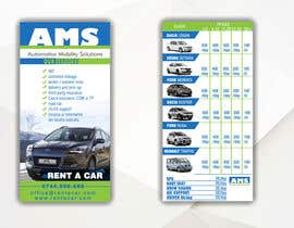 #10 para Design a Flyer for AMS RENT A CAR por adidoank123