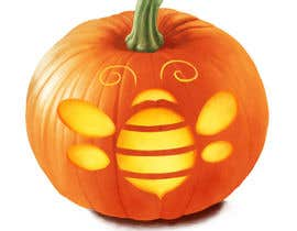 #19 for Illustrate Something for Honey Bee carved into a Pumpkin by leaheyart
