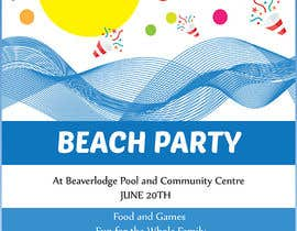 #2 untuk Design a Flyer for Community beach Party oleh razvanbarascu