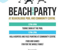 #6 untuk Design a Flyer for Community beach Party oleh Gugunte
