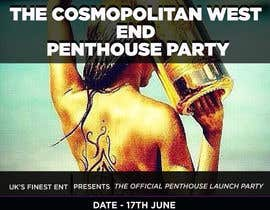 #6 para Design a Flyer for The Cosmopolitan Westend Penthouse Party por amirkust2005