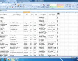 #11 for Create a spreadsheet from PDF data af bdjob