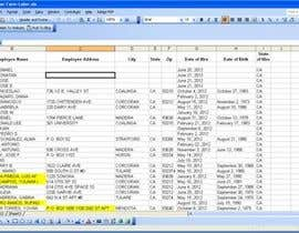 #9 for Create a spreadsheet from PDF data af Sami888