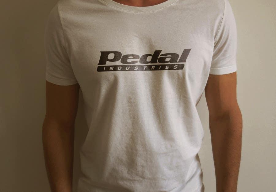Penyertaan Peraduan #19 untuk Design a T-Shirt for Pedal Industries
