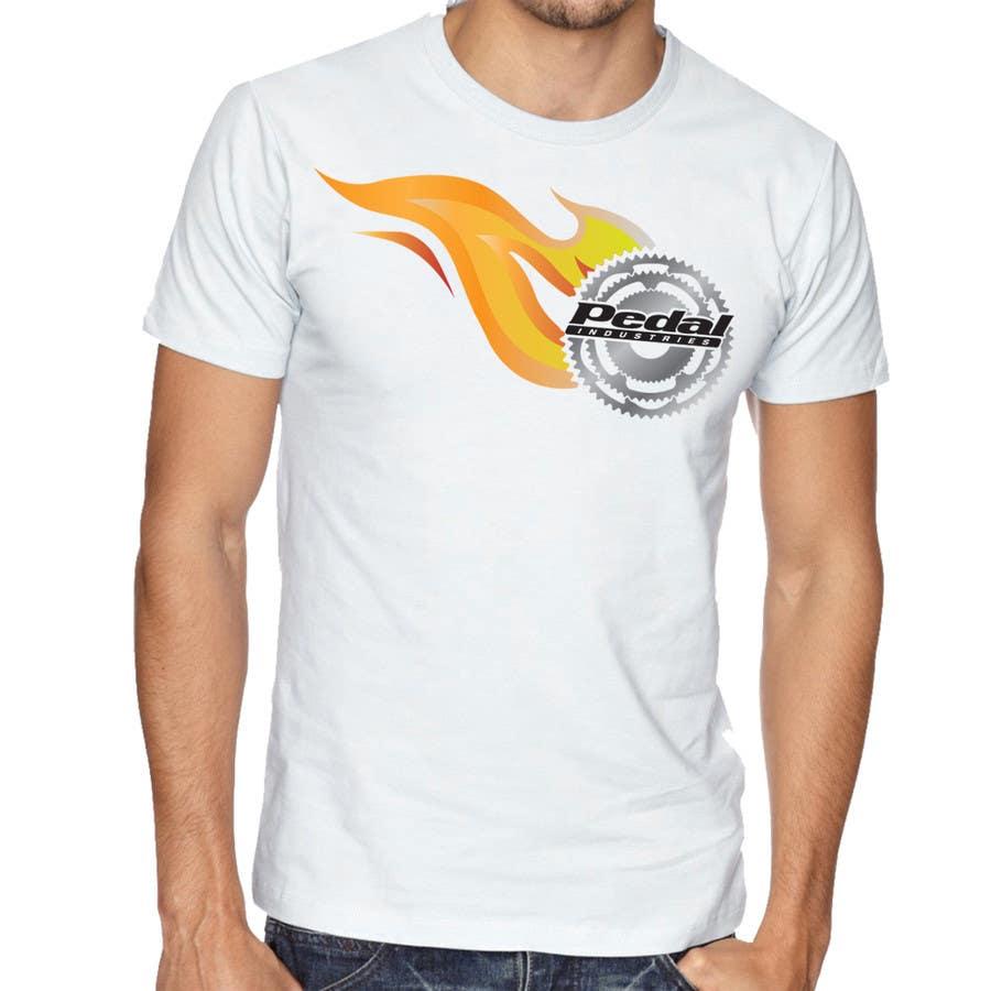Penyertaan Peraduan #15 untuk Design a T-Shirt for Pedal Industries