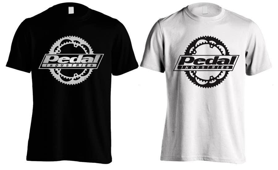 Penyertaan Peraduan #9 untuk Design a T-Shirt for Pedal Industries