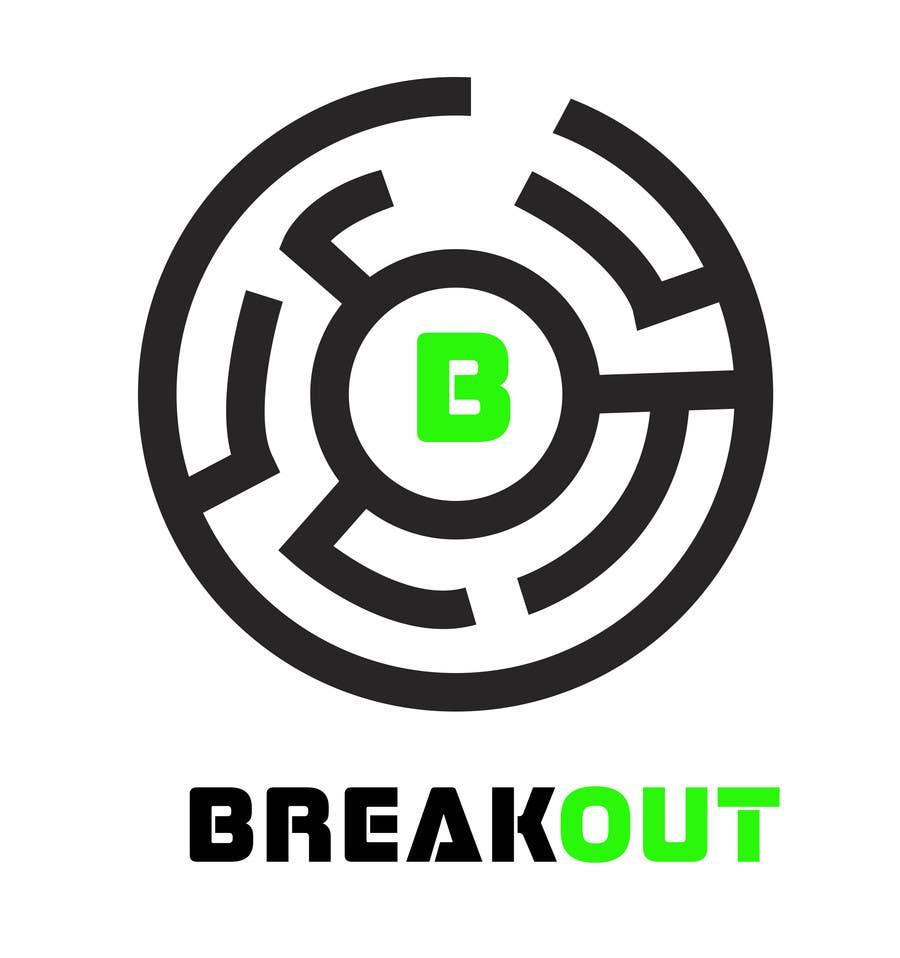 Kilpailutyö #362 kilpailussa Design a Logo for Breakout