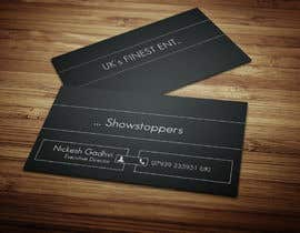 #45 para Design some Business Cards for Events company por anikush