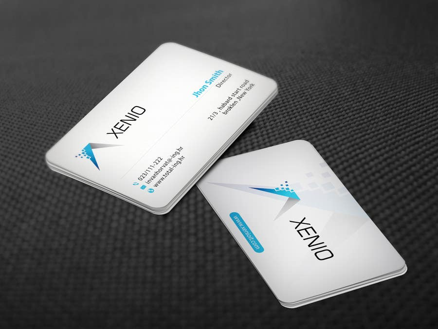 Business card for software company : Freelancer