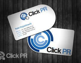 nº 28 pour Business Card Design for Click PR par topcoder10