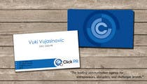 Graphic Design Contest Entry #204 for Business Card Design for Click PR