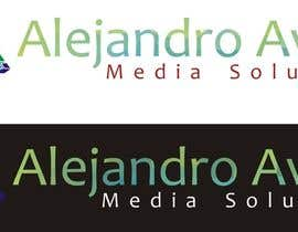 #55 untuk Design a Logo for Alejandro Avilés Media Solution oleh LuchianTeodor