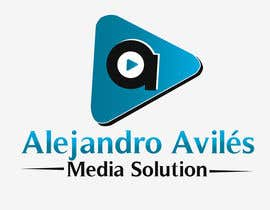 pankaj86 tarafından Design a Logo for Alejandro Avilés Media Solution için no 19
