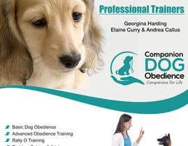 Nro 21 kilpailuun Dog Obedience Flyer Design käyttäjältä stylishwork
