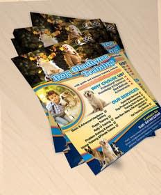 Nro 27 kilpailuun Dog Obedience Flyer Design käyttäjältä gmorya