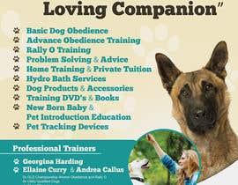 Nro 9 kilpailuun Dog Obedience Flyer Design käyttäjältä nikolaipurpura