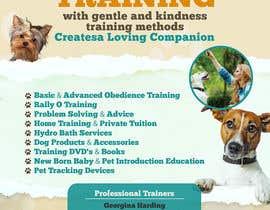 Nro 15 kilpailuun Dog Obedience Flyer Design käyttäjältä nikolaipurpura