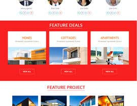 #22 untuk Website Homepage design for a corporate group -- 2 oleh jituchoudhary
