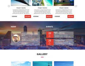 #14 untuk Website Homepage design for a corporate group -- 2 oleh csatya