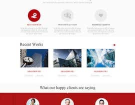 #17 untuk Website Homepage design for a corporate group -- 2 oleh hieuhugo127