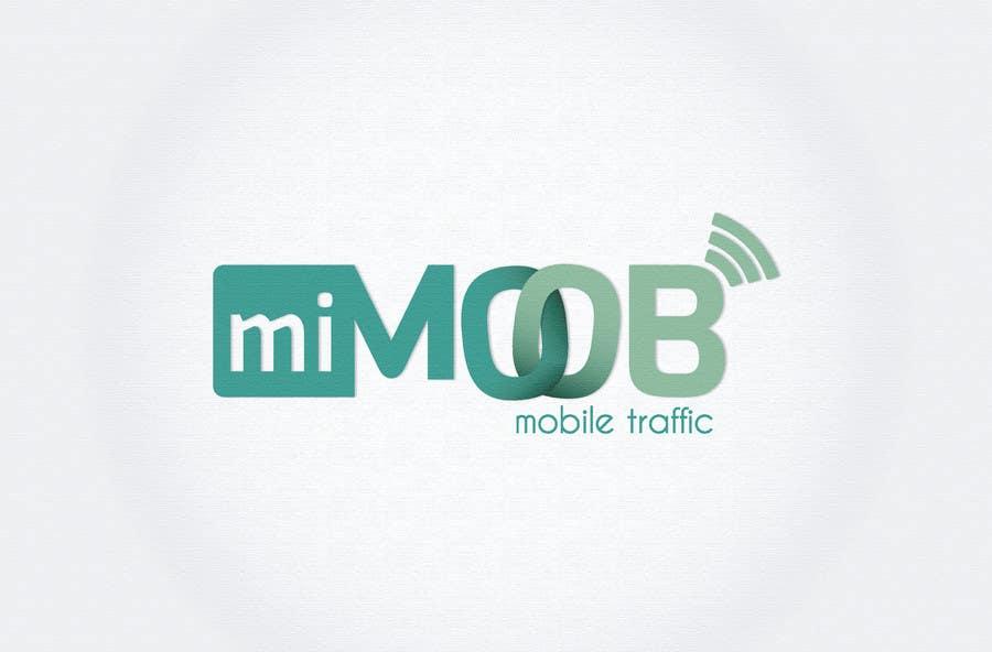 Penyertaan Peraduan #5 untuk Diseñar un logotipo para mimoob / Design a logo for mimoob