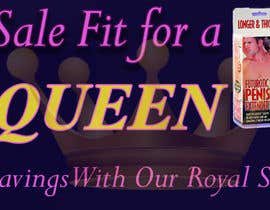 #20 for Design a Banner for My Adult Website (Queens Birthday Sale!) by edesigndori