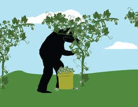 #4 untuk I need an illustration of a grape vine that grows money instead of grapes oleh thelosers1
