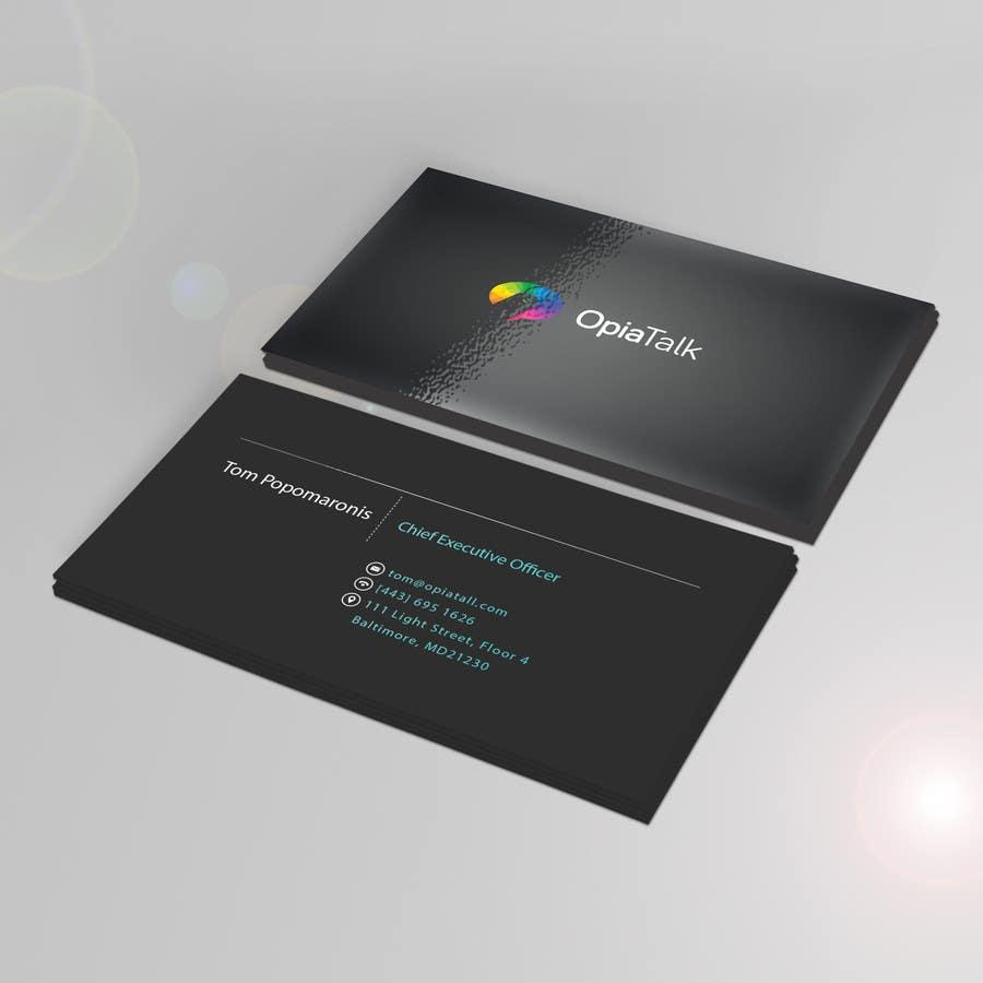 Entry #143 by danaesiaveli for FAST Business Card Design   Freelancer