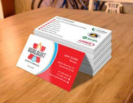 #63 para Business Cards for Hurlburt por flechero