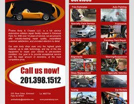 Nro 4 kilpailuun Design a 1 Panel Brochure for Car Business käyttäjältä stylishwork