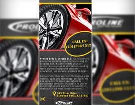 Nro 10 kilpailuun Design a 1 Panel Brochure for Car Business käyttäjältä adidoank123