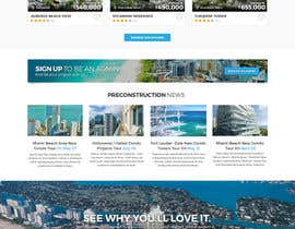 TuneThemesLLC tarafından Design a Website Mockup for real estate pre-construction database için no 18