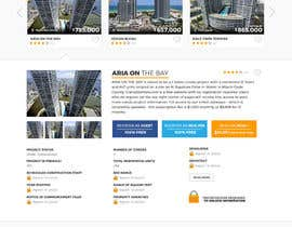 #20 untuk Design a Website Mockup for real estate pre-construction database oleh TuneThemesLLC