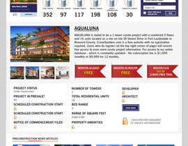 kash03vw tarafından Design a Website Mockup for real estate pre-construction database için no 12