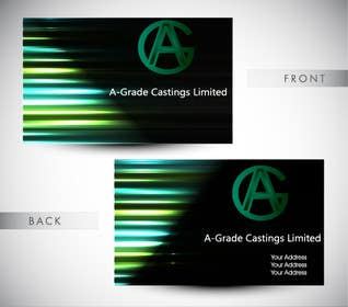 #11 for Design some Business Cards for A-Grade Castings Limited af selinayilmaz1
